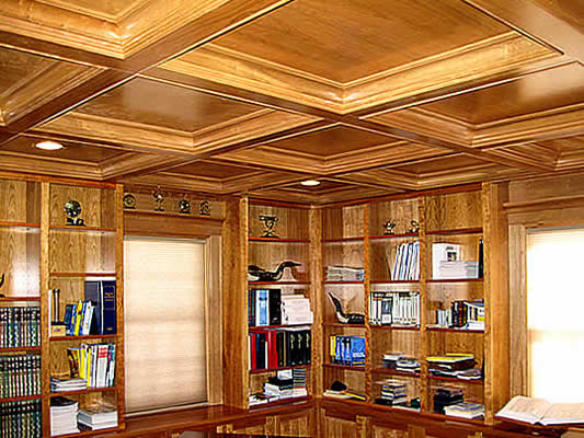 Andrew Smith Woodworking Quality Custom Libraries